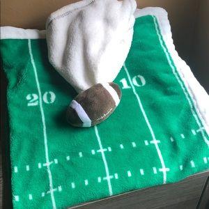 Football 🏈 babies cute set with blanket